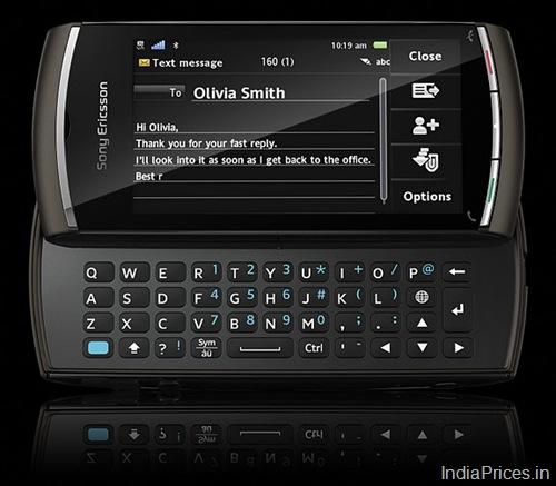 sony ericsson vivaz pro white. Sony Ericsson Vivaz pro