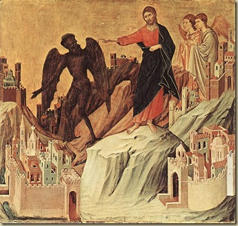 Duccio: The Temptation on the Mountain