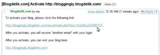 Verifikasi akun email anda