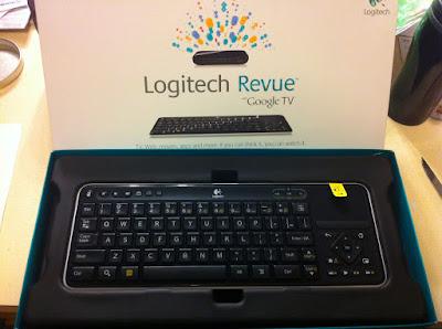 Google TV Logitech Revue