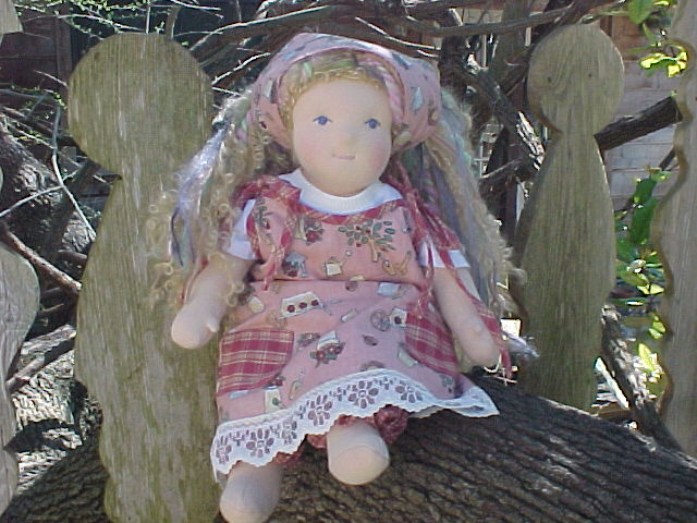 Gardening Theme  Doll Jumper Outfit - Custom Size