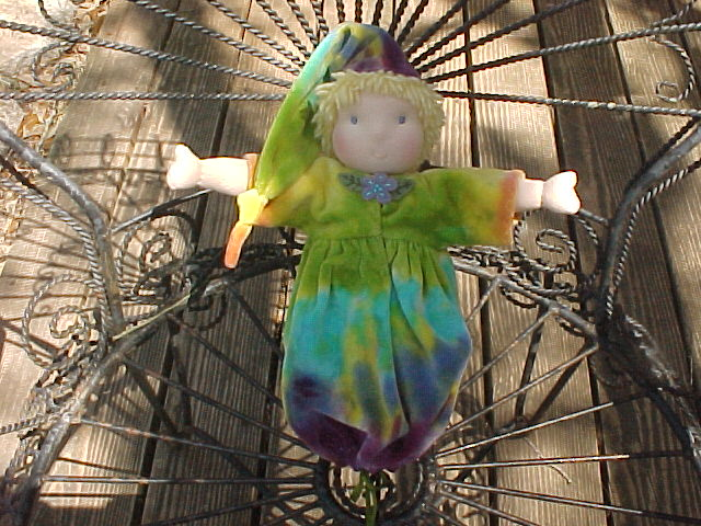 Weighted Custom Waldorf Doll Baby Bunting
