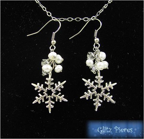 snowfall earring