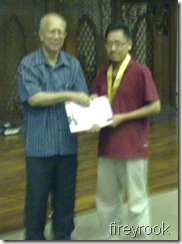 Kamalarifin Wahiduddin, 2nd Open