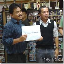 Ahmad Fadzil Nayan, third