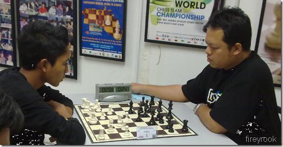 M Nabil vs Tun Seri Lanang, Table 1, Rd 5