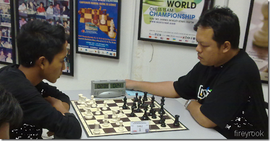 M Nabil vs Tun Seri Lanang, Table 1, Rd 5