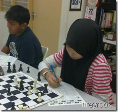L-R, Arif and Nadia