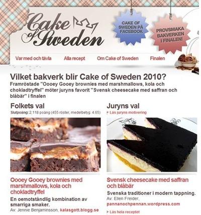 Cake of Sweden