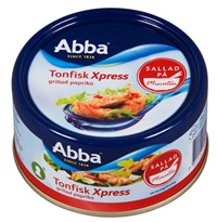 4631 Abba Tonfisk xpress grillad paprika<br />7311171004562