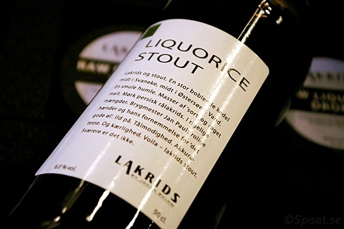 Liquorice Stout by Johan Bülow