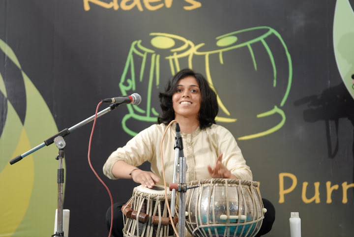 Female Tabla Player - Heena Patel