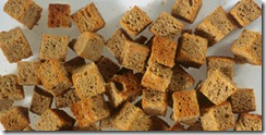 сухарики из Бородинского хлеба