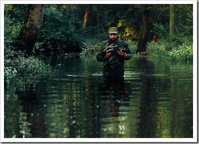 Fotó: Kovács Attila fotóművész (MTI) - Gemenc, 1991