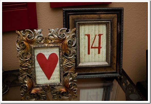 heart & 14 frame