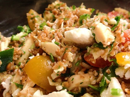 Chicken Feta Tabbouleh 3