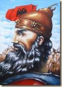 Gjergj Kastrioti - Skenderbeu (Pikture nga Sabir Krasniqi)j