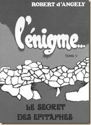La copertina del libro, versione francese