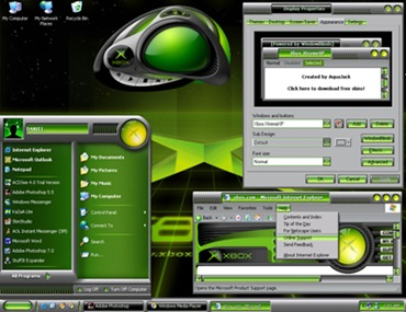 Xbox XtremeXP , Theme for Windows XP