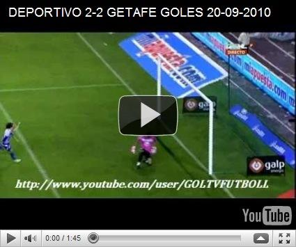 Hasil Pertandingan Deportivo La Coruna vs Getafe