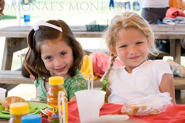 Erika and Megan picnic blog