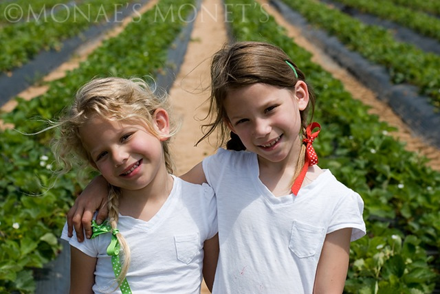 Erika and Brooke in field blog