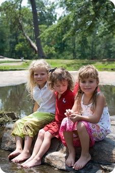 three girls at flat rock blog