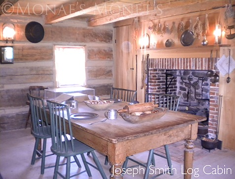Joseph Smith log cabin blog