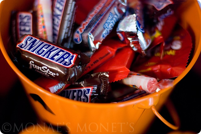 candy in pail blog