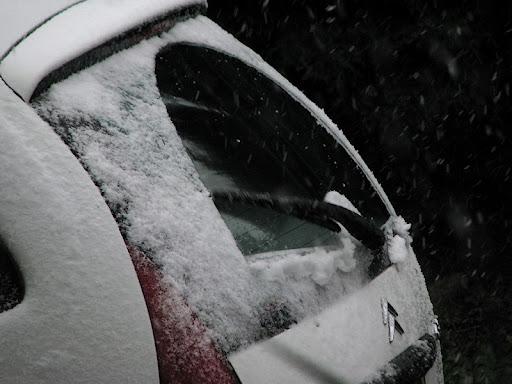 comment photographier la pluie Neige