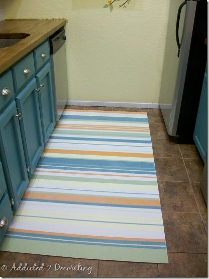 painted floor cloth 1
