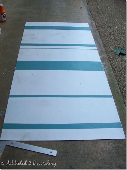hand painted floor cloth 8