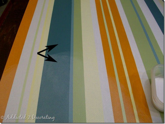 hand painted floor cloth 13