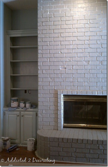 bookcase fireplace after 1