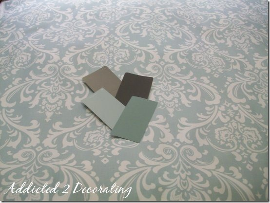 j and a family room drapery fabric paint samples
