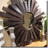 sunburst mirror from project pretty