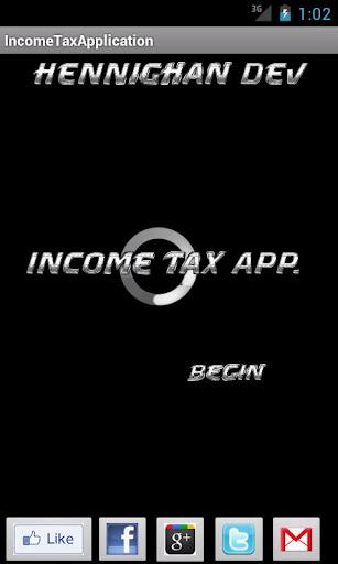 Income Tax Calculator 2012