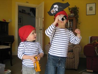 Pirates Tate and Gil