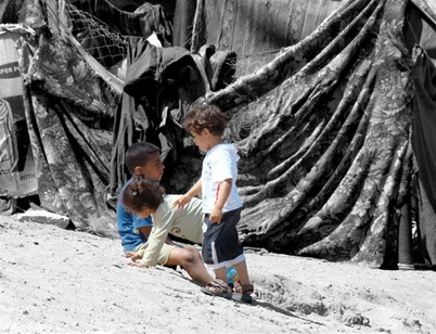 extreme poverty in Chati refugee camp