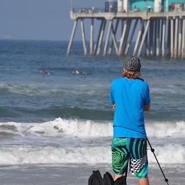 Shooting the Pier by Jose Matutina - City,  Street & Park  Street Scenes ( hurley us open of surfing,  )