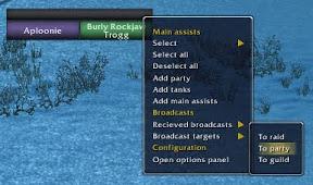 targetAssist broadcast