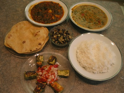 Nisha's spread