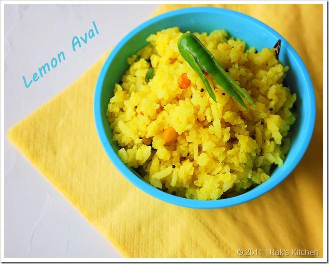 Lemon Poha