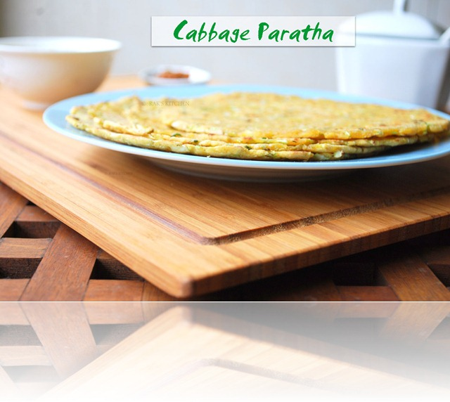 Cabbage parantha