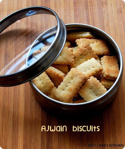 Ajwain cookies recipe