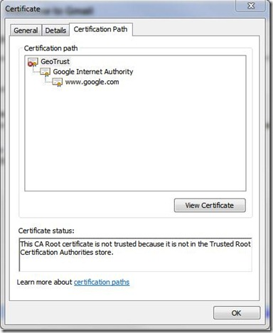 My Knowledge Base - IT: Certification Error: Navigation Blocked ...