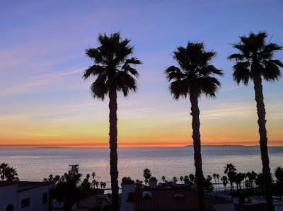 Rare View of San Clemente and Catalina Islands