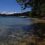Clear waters of Pulau Gaya