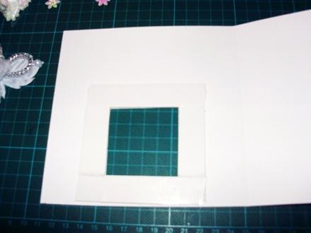 открытка-аквариум шаг 3