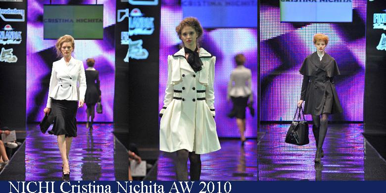 Nichi Cristina Nichita Toamna-Iarna 2010 Romanian Fashion Week Iasi